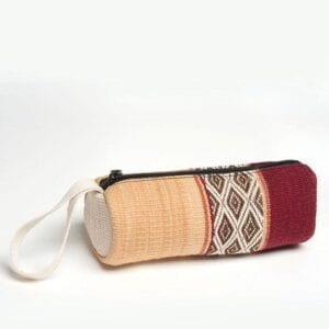 LARES PENCIL CASE - CRIMSON