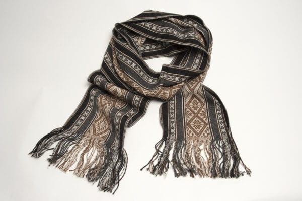 TOTORA PEWTER scarf