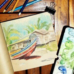 Travel book in Thailand