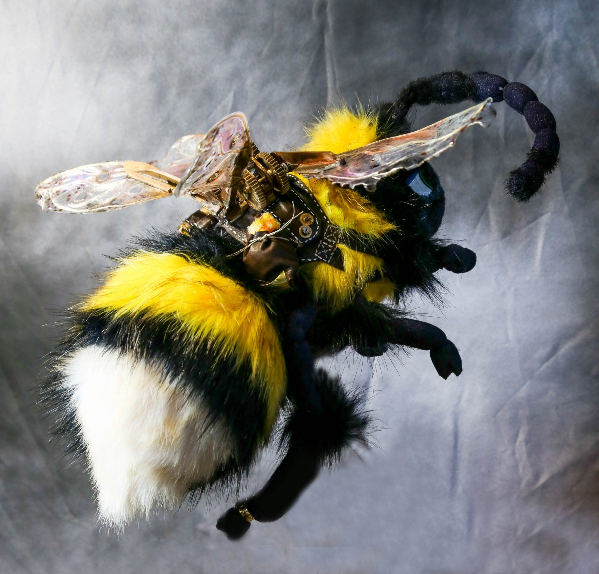 bee puppet steampunk