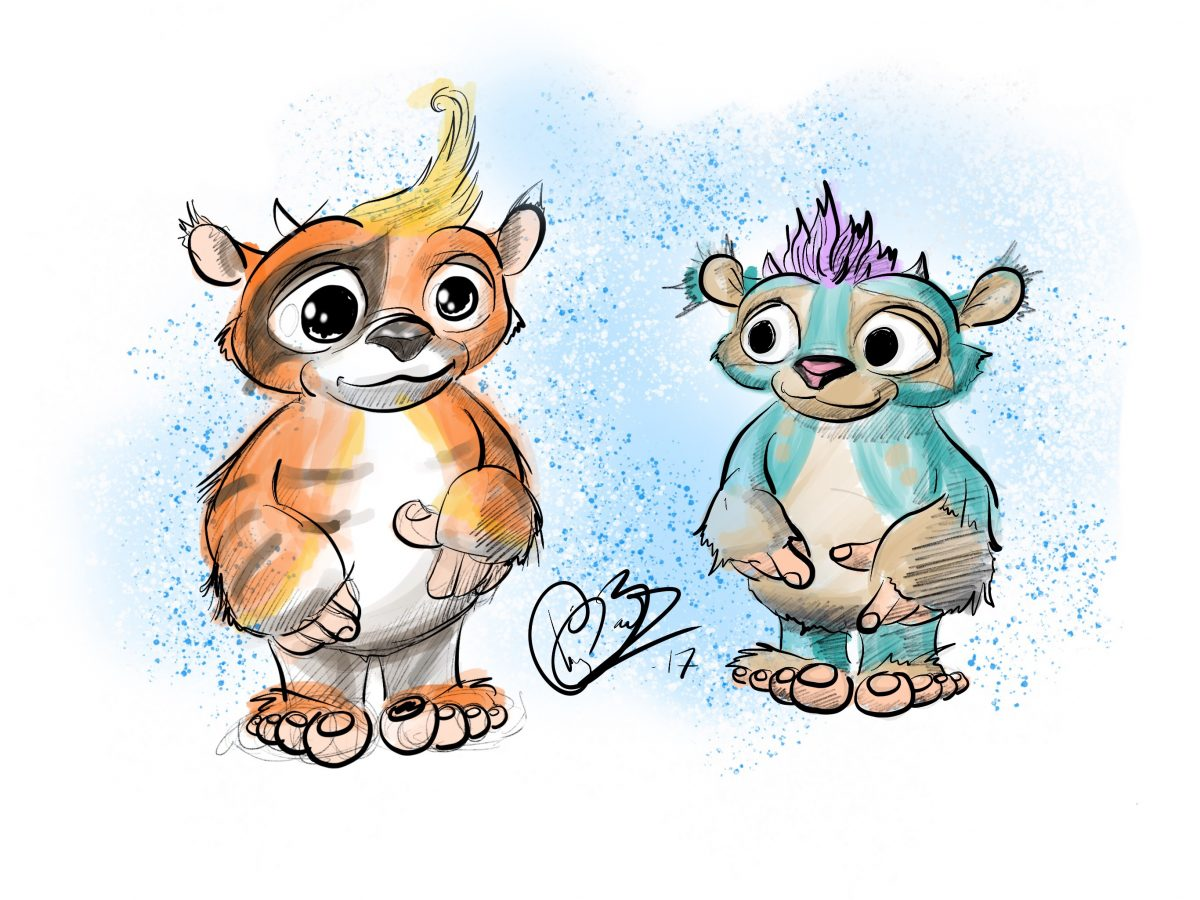 feeling better cbeebies character design