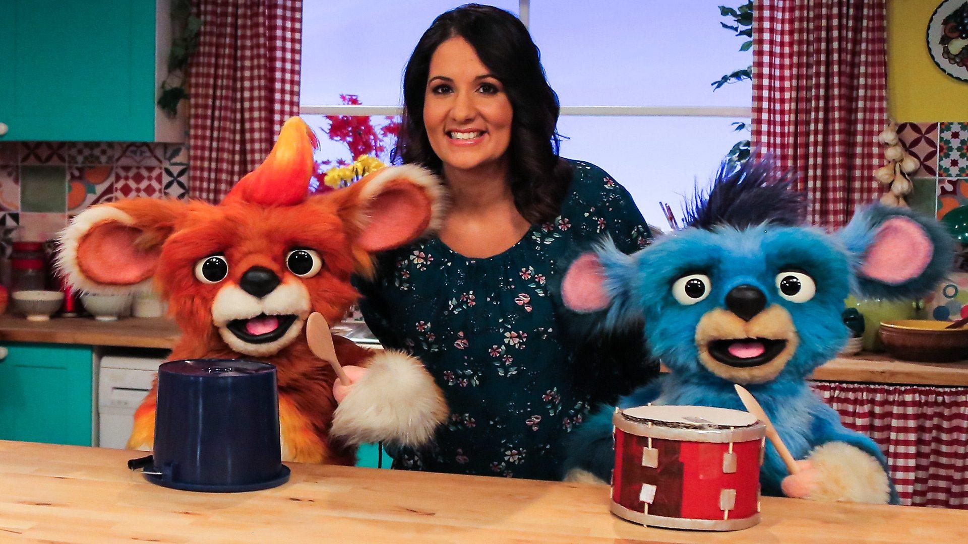 tv puppets feeling better cbeebies