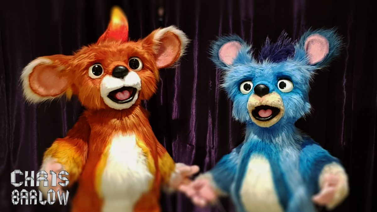 BBC feeling btter cbeebies puppets by chris barlow