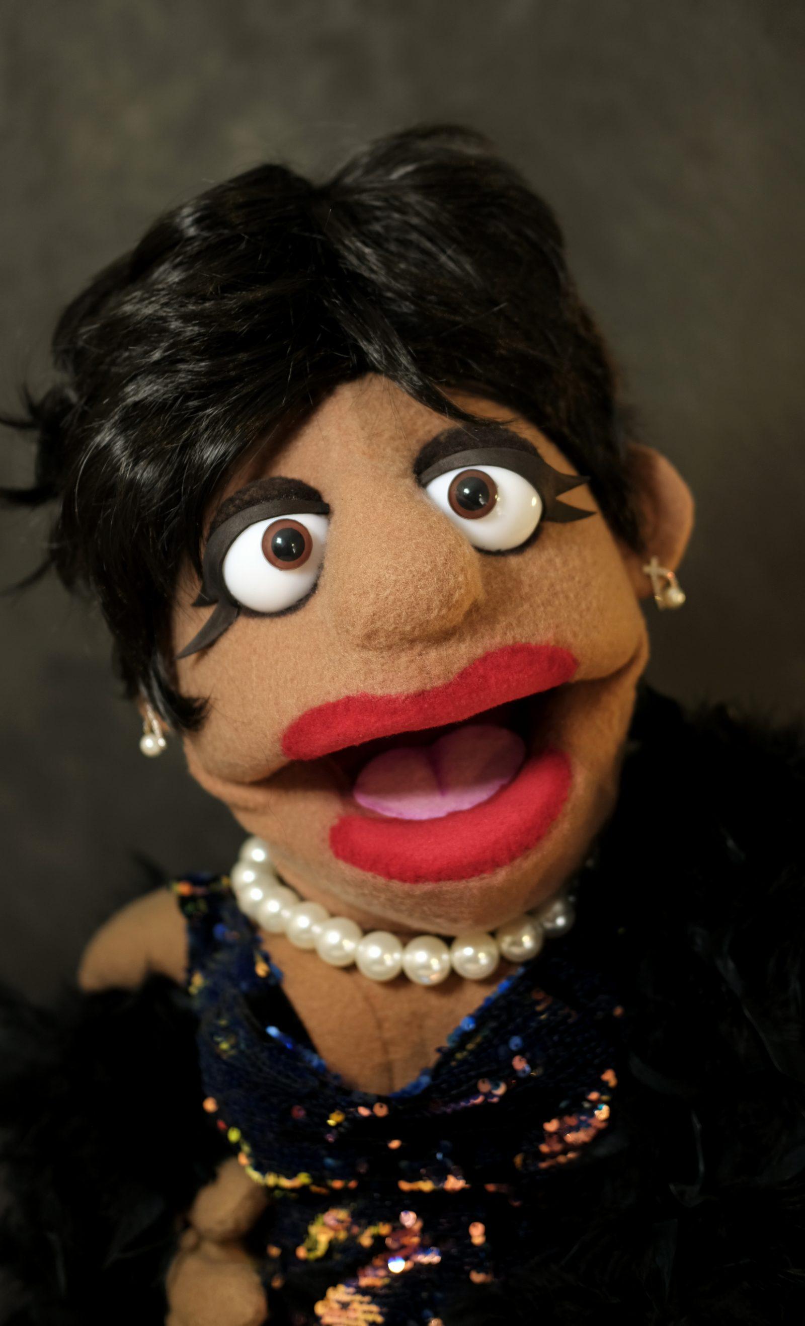 shirley bassey puppet