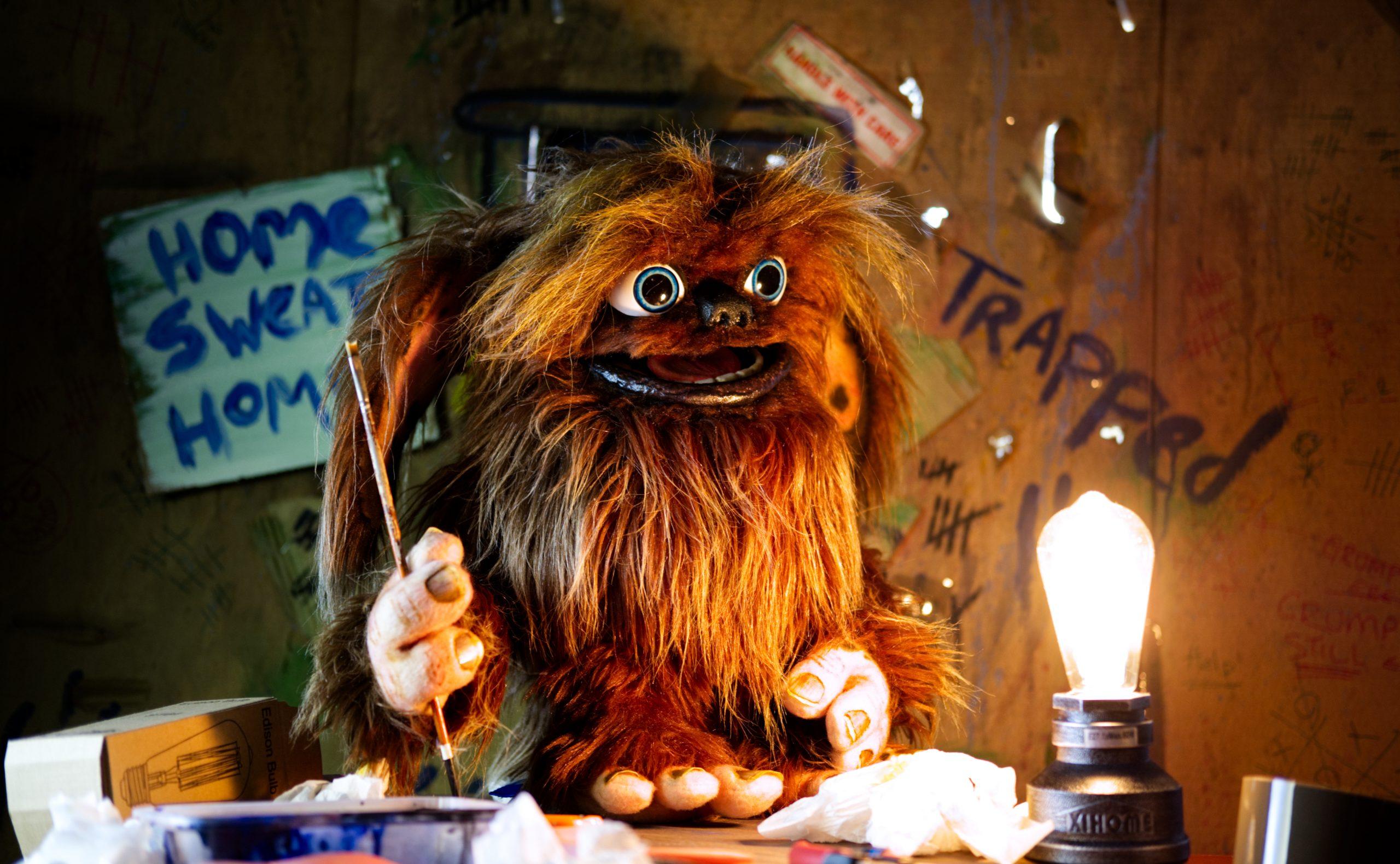 Main character puppet