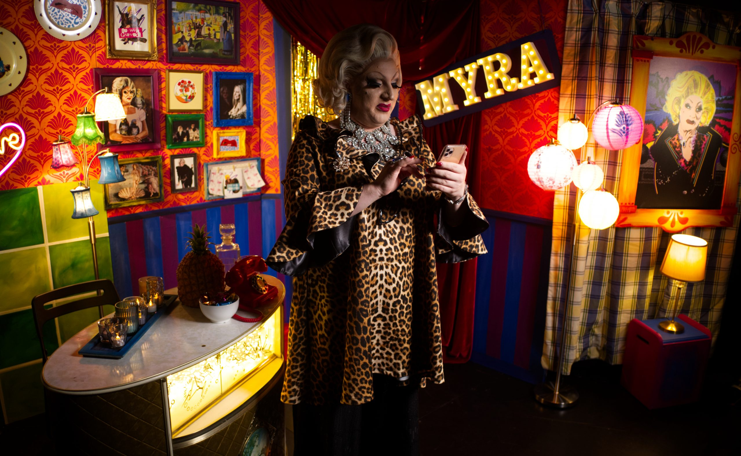 Myra Dubois in A Problem Shared