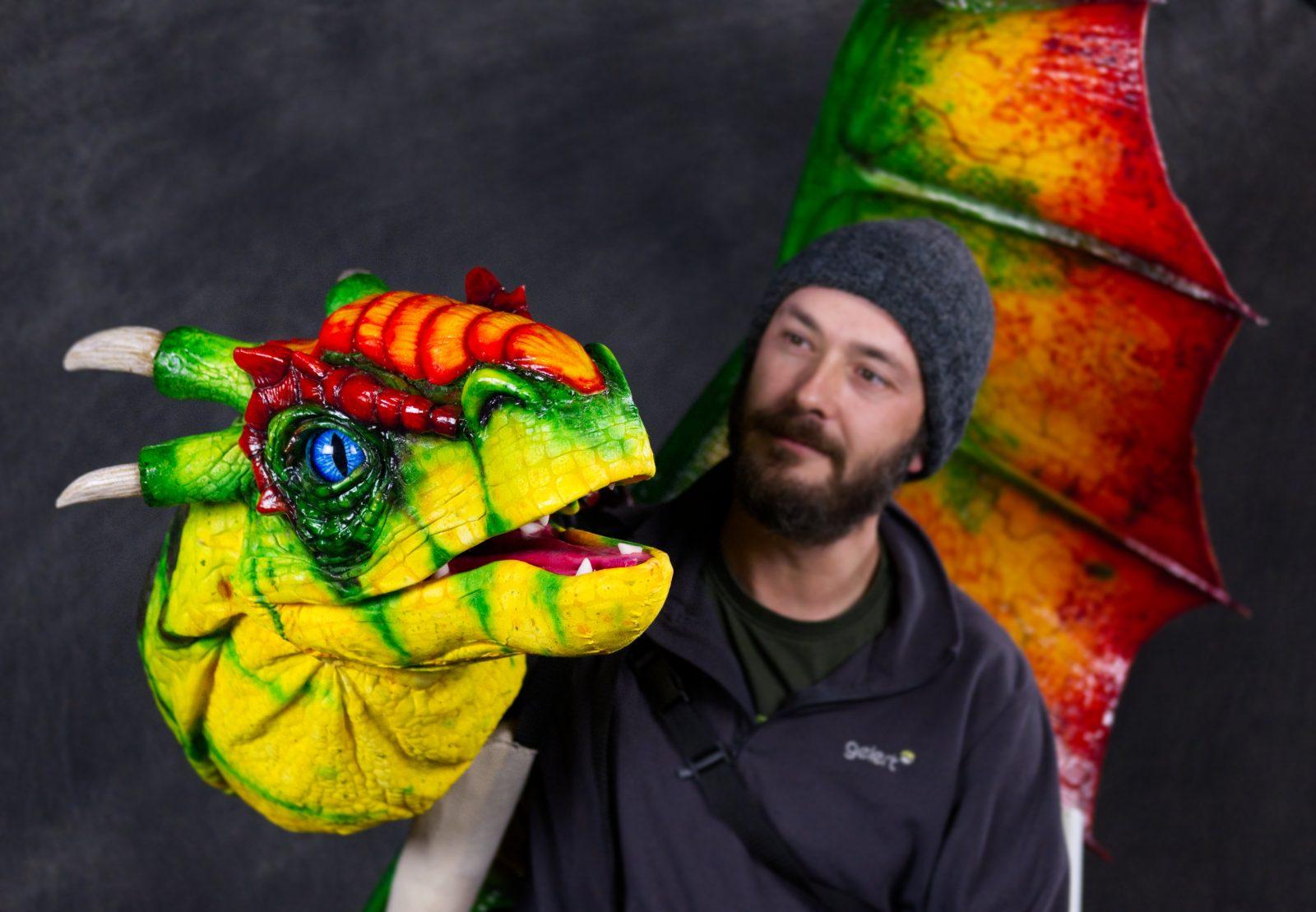 dragon puppet studio