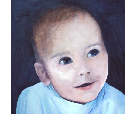 Portrait of Ezra for Debbie