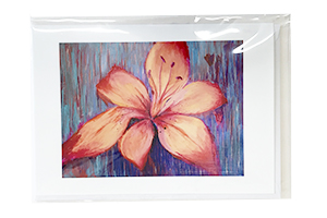 Fire Lily Card