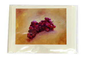 Bunches of Grapes Card