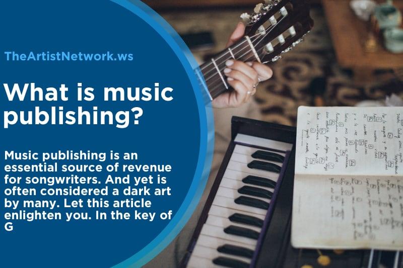 explaining music publishing
