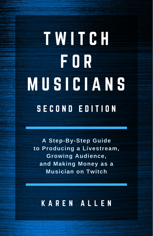 Twitch for musicians - how to do a music livestream