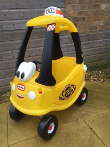 Little Tikes yellow Taxi