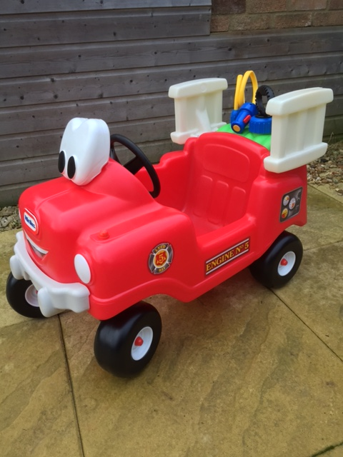 Little Tikes Fire Truck ride on with ladder and hose