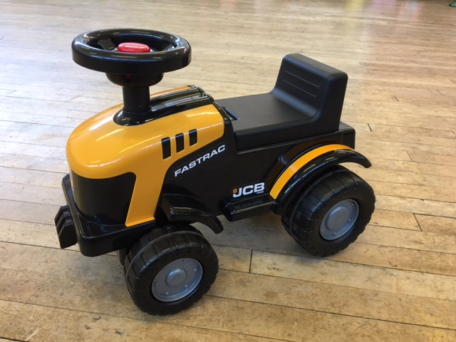 Small JCB tractor ride on