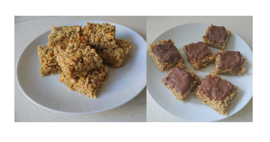 super easy flapjacks