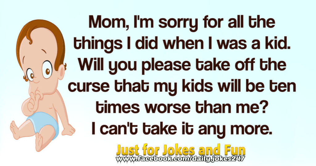 mom im sorry