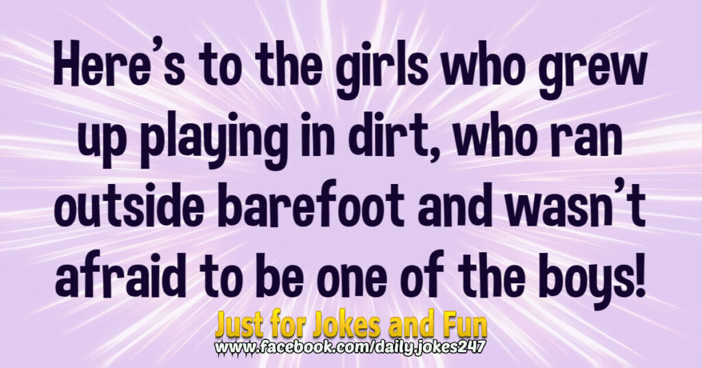 Here's to the girls who grew up