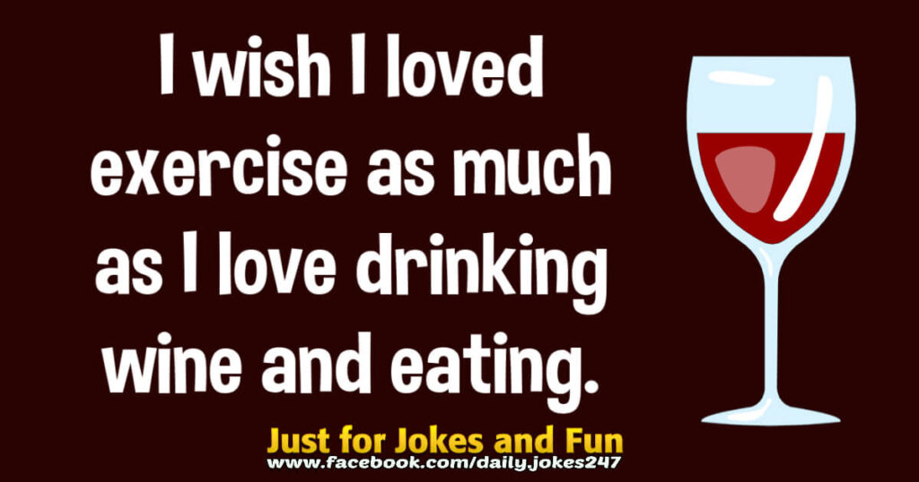 I wish I loved exercise