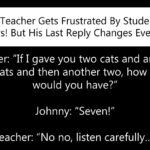 Confused Teacher Gets Frustrated By Student's Dumb Answers, But His Last Reply Changes Everything