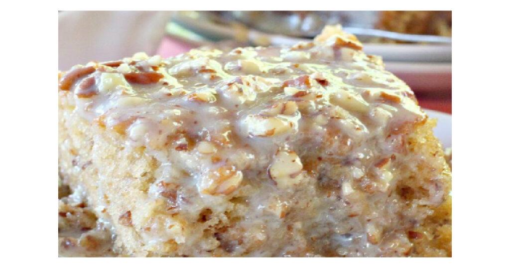 Southern Pecan Praline Sheet Cake