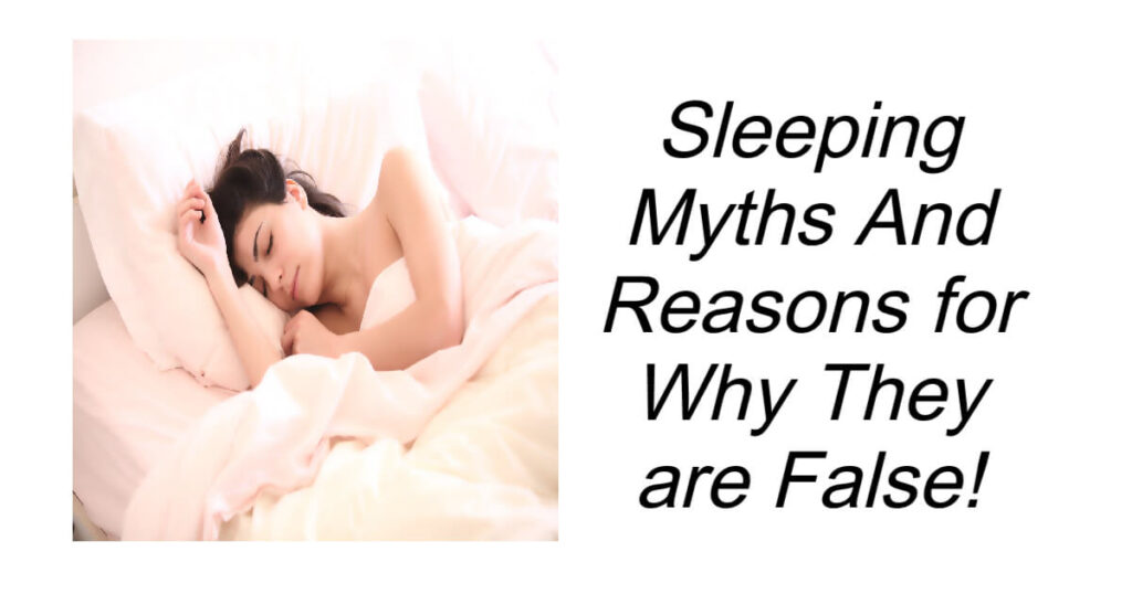 Sleeping Myths That Are Believed to be True
