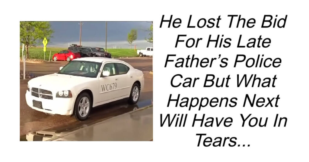 He Lost The Bid For His Late Father's Police Car