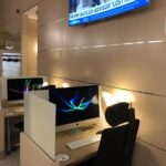 FinnAir Desk Lounge