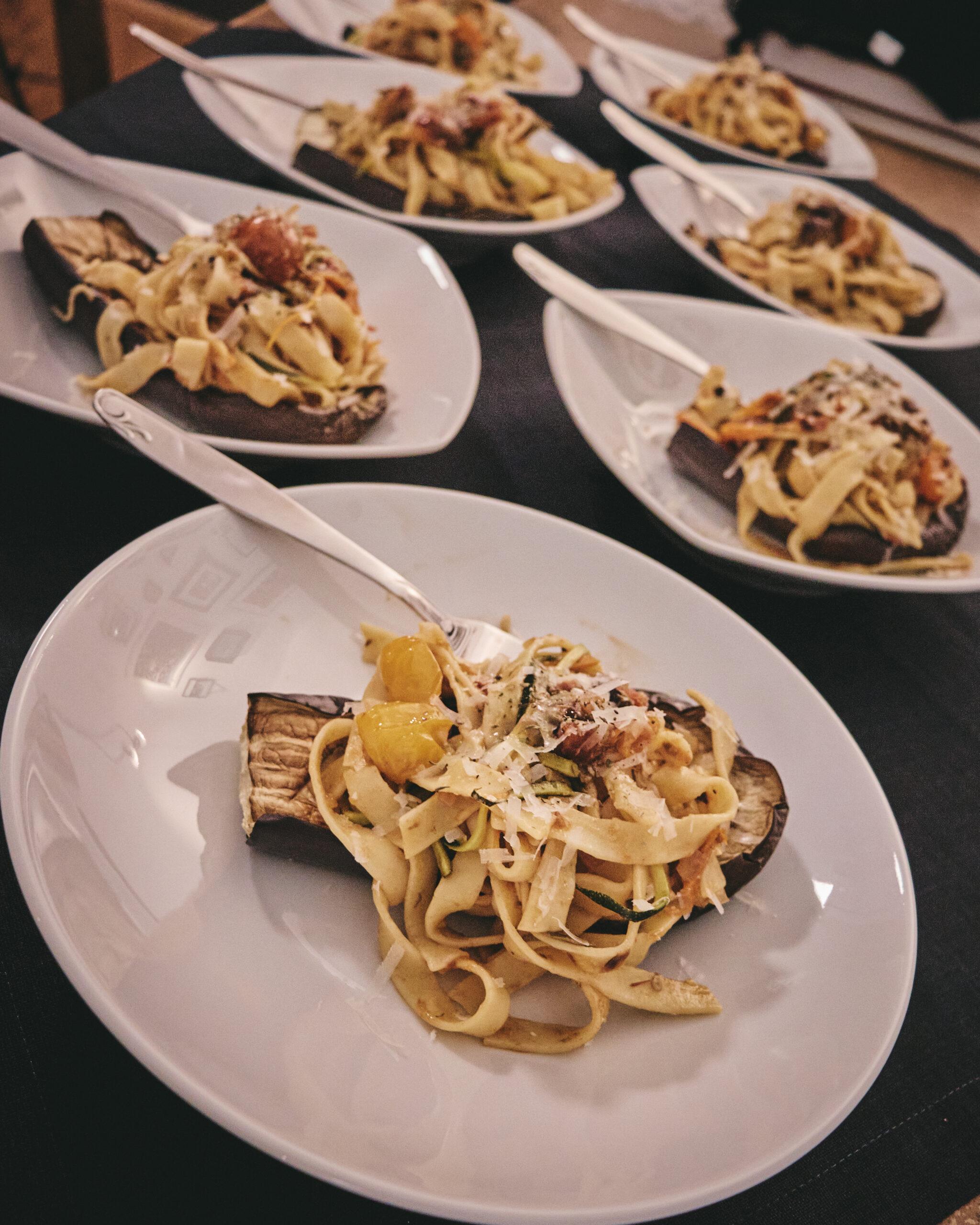 Pasta Puttanesca in Annas Küche