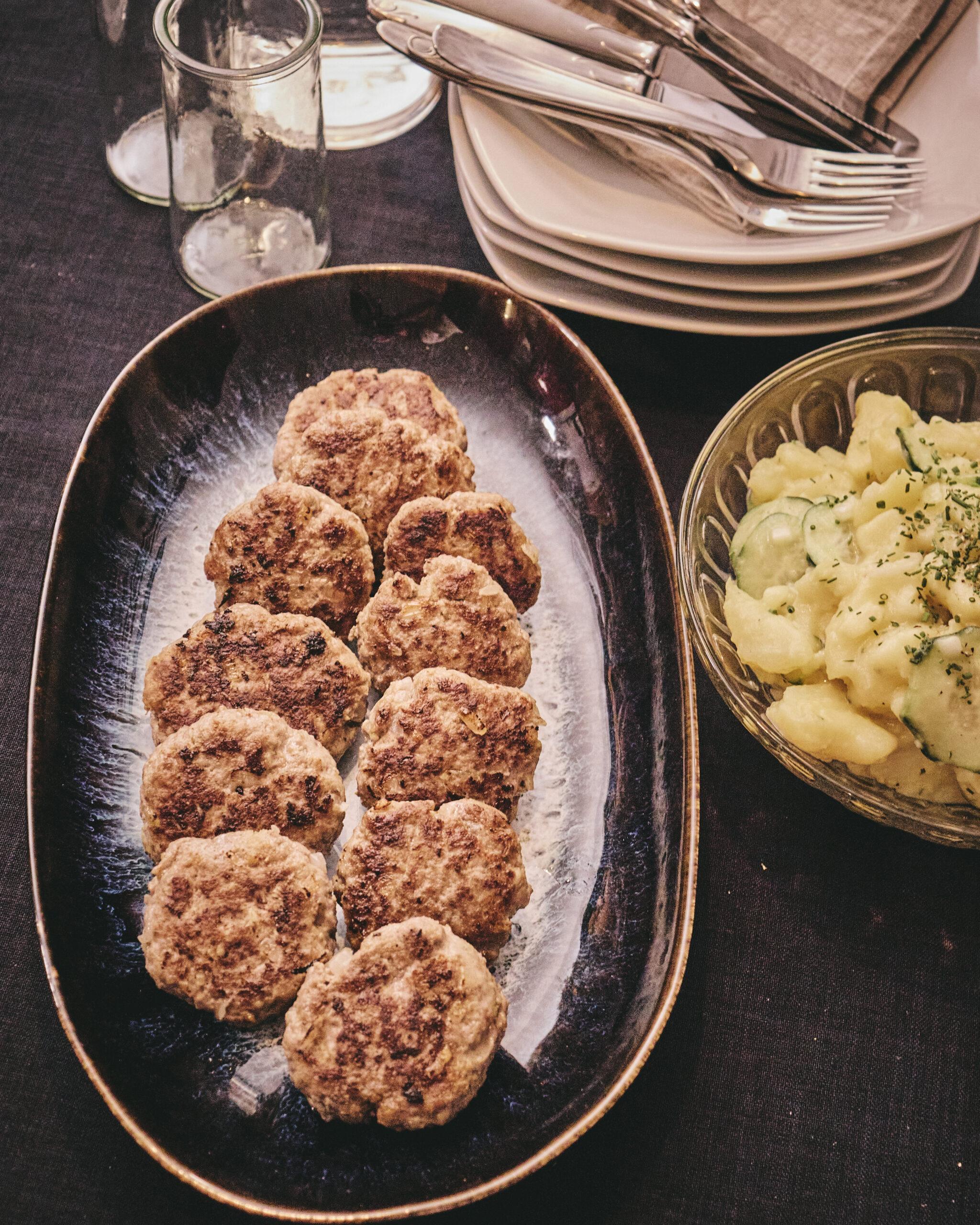 Fleischpflanzer in Anna´s Küche