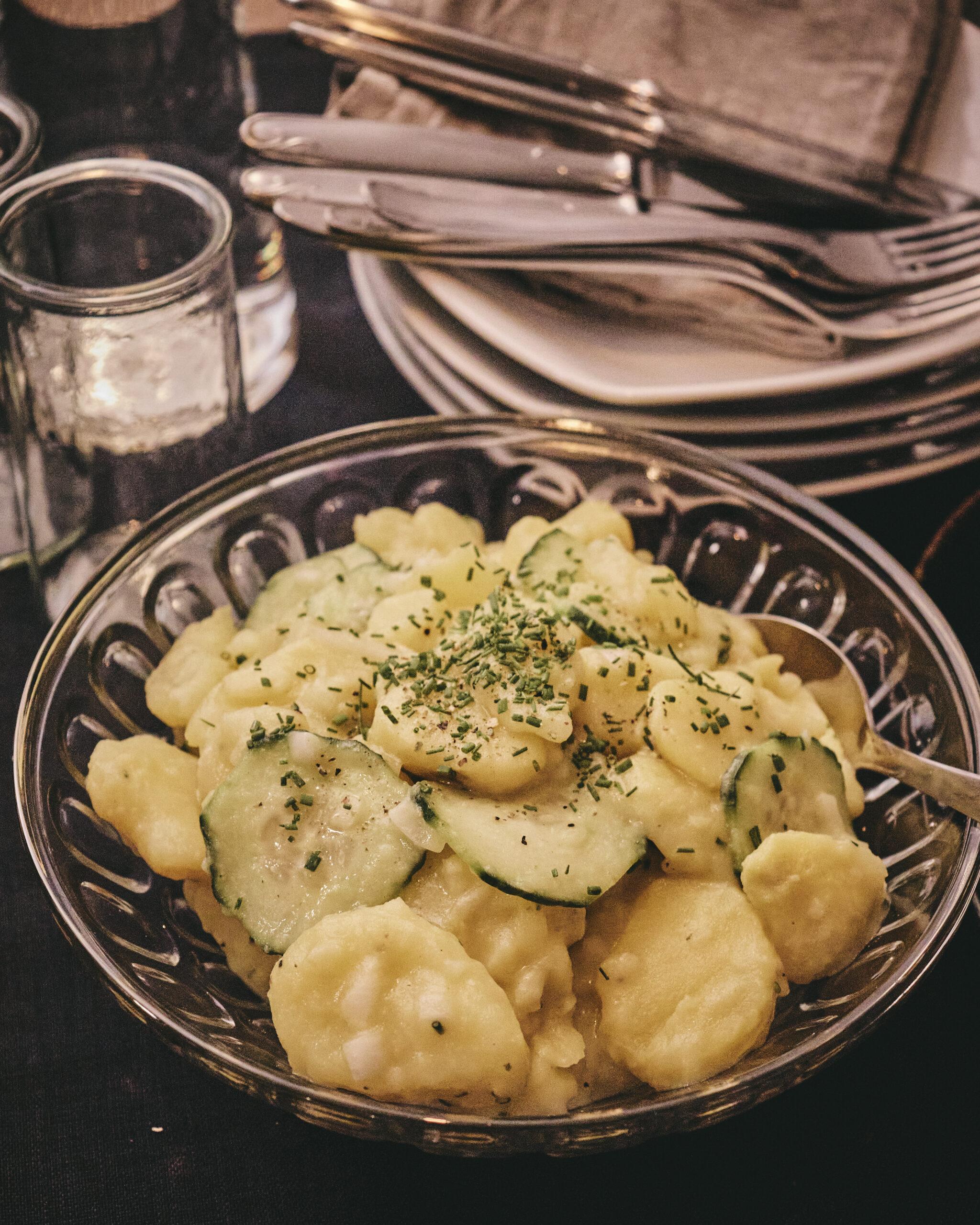 in Annas Küche Kartoffelsalat