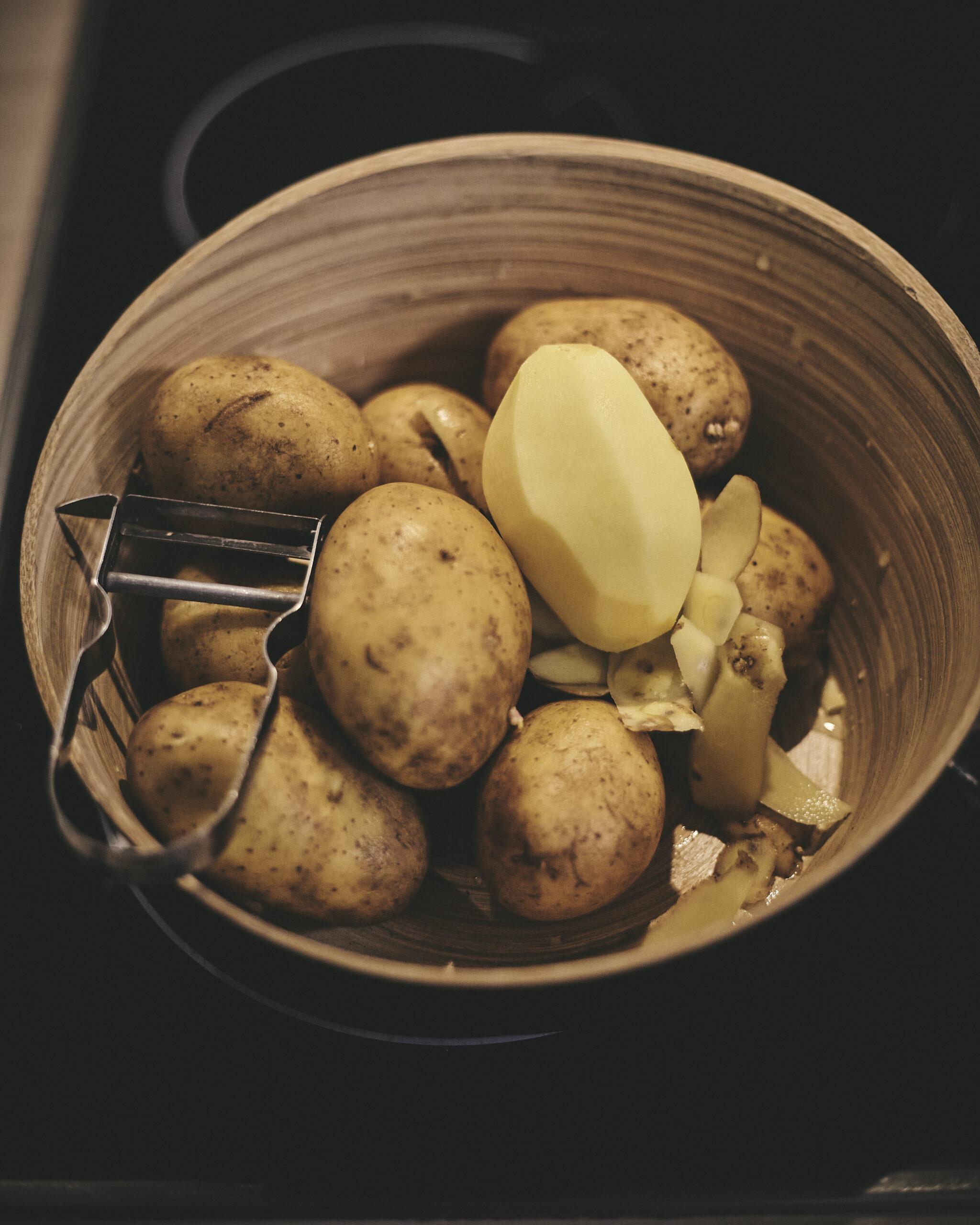 Kartoffelpüree in Annas Küche