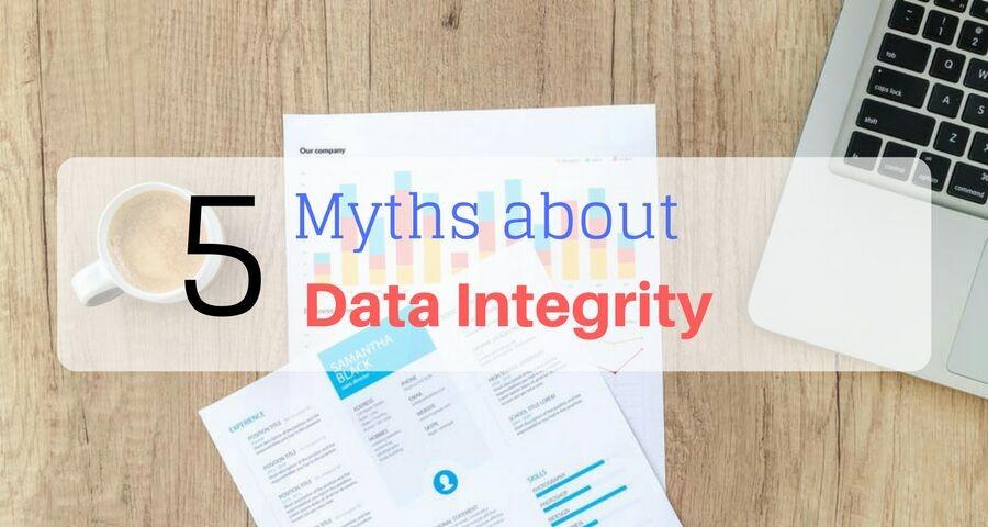 Data Integrity by Raman Mehta