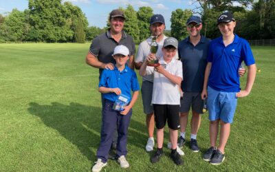 Pudden Trophy annual golf competition