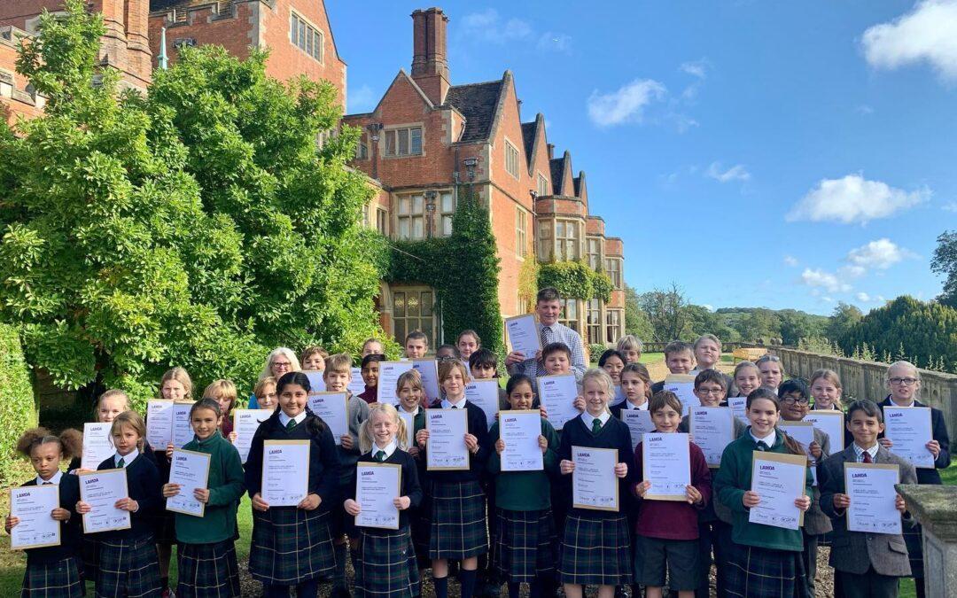 LAMDA Certificates – 40 Distinctions Up to GCSE