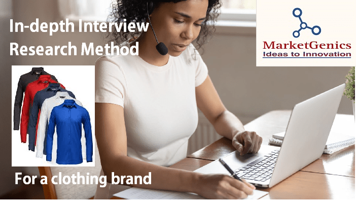 In-depth Interview for a clothing brand