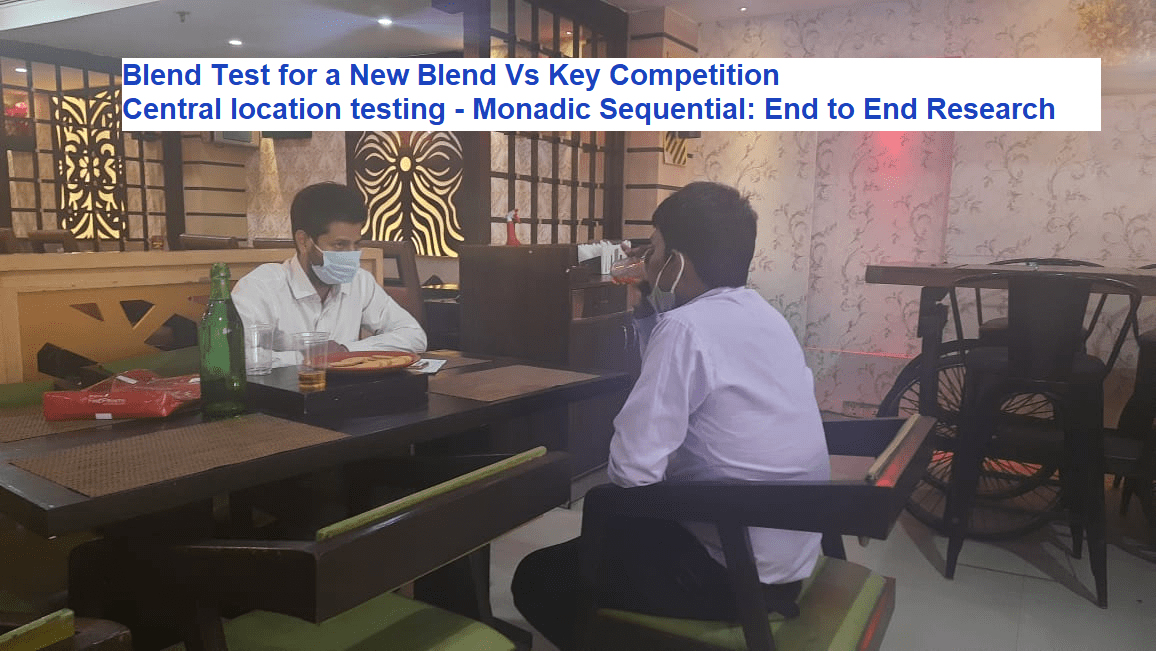 Blend Test for a New Blend Vs Key Competition: End-to-end Research