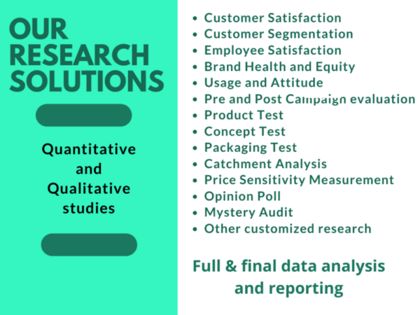 OUR RESEARCH SOLUTIONS