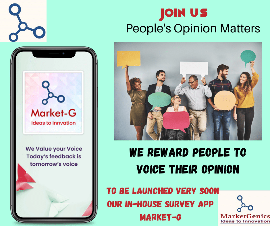Market-G Online Survey App –  Your Opinion Matters – Fill Surveys, Give your Opinion and Get Rewards at the Comfort of your Home