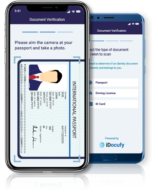 Passport Mobile Screen