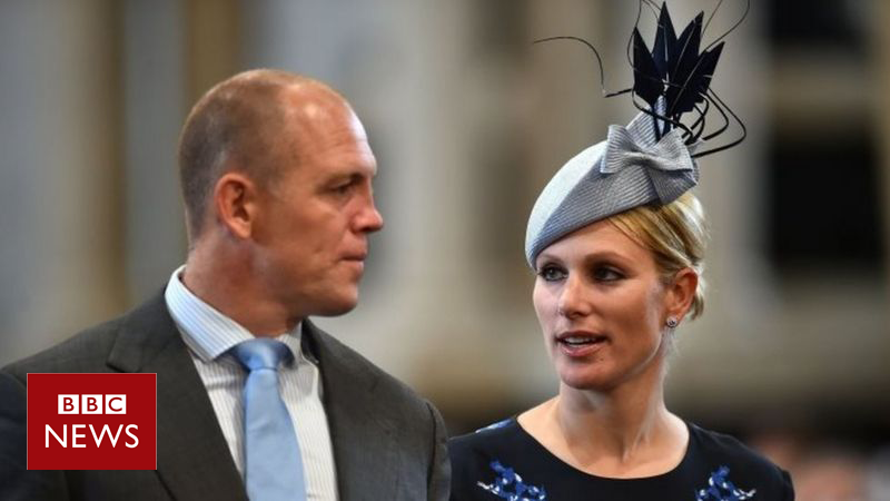 Zara & Mike Tindall