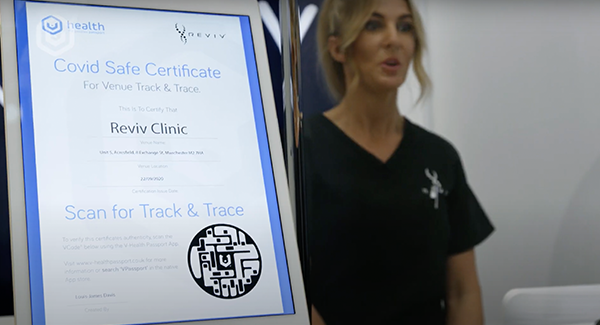 V-Health Passport™ - Reviv Fit To Fly