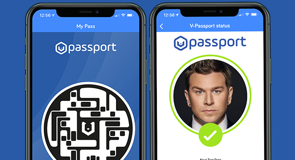 V-Health Passport™ Status