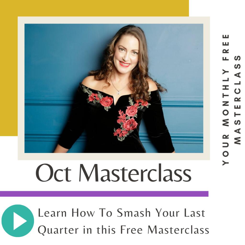 Oct Free Masterclass