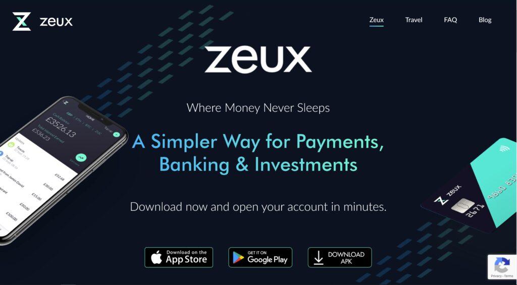 zeux homepage