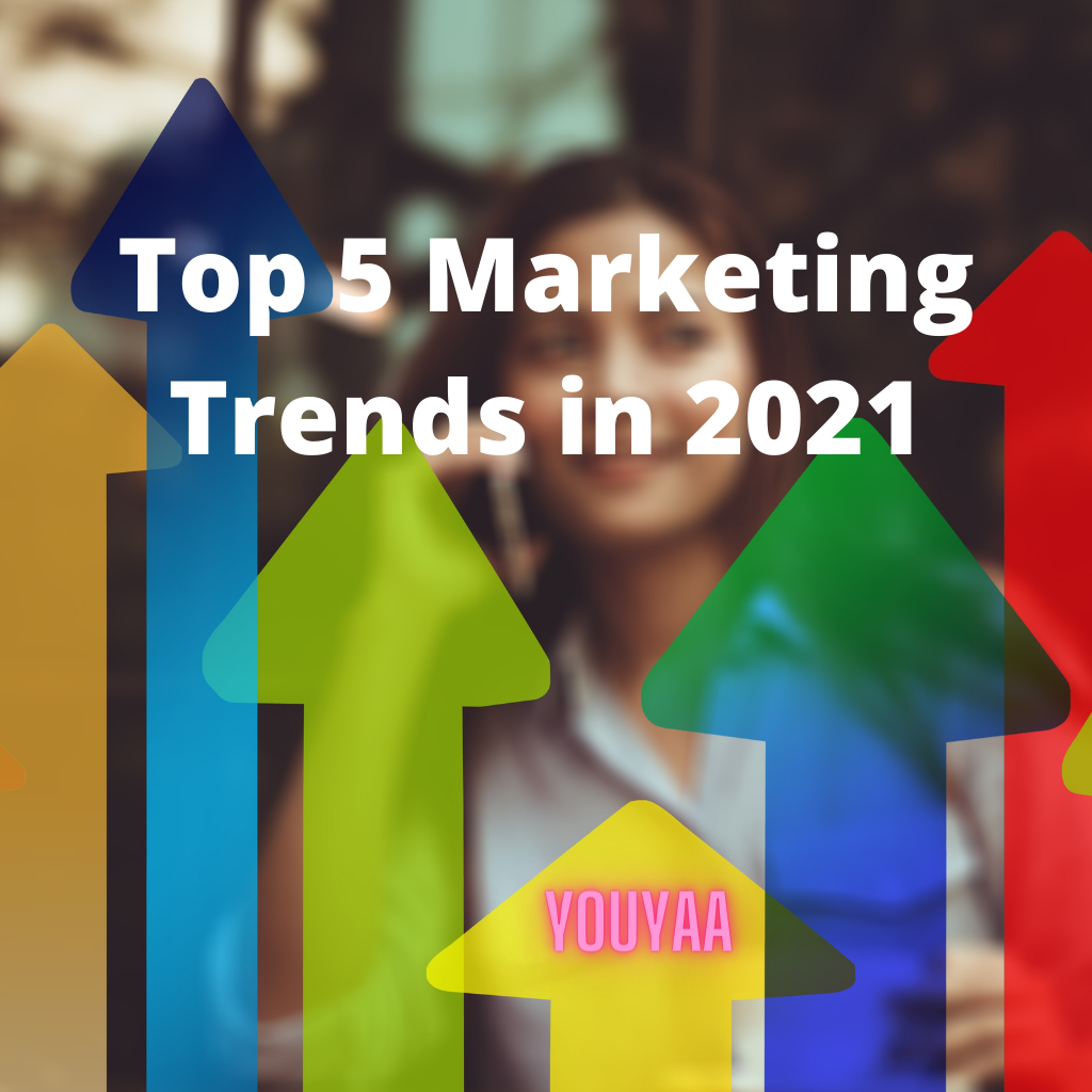 The top five digital marketing trends of 2021 you need to know and adopt