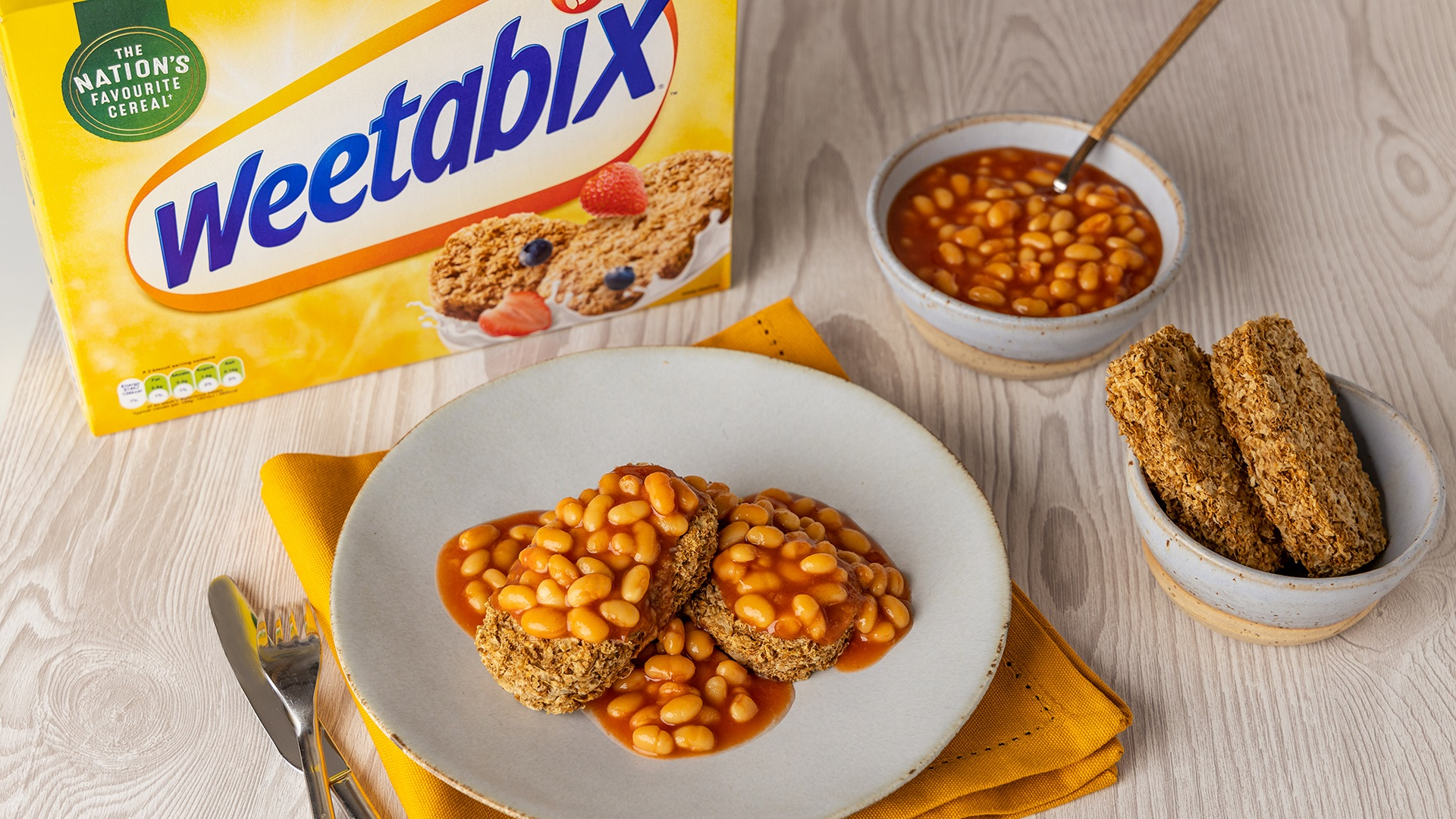 Weetabix and beans horror
