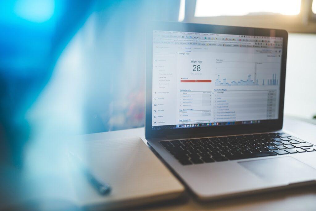 Google Analytics Macbook