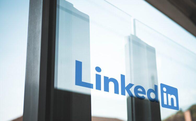 LinkedIn glass