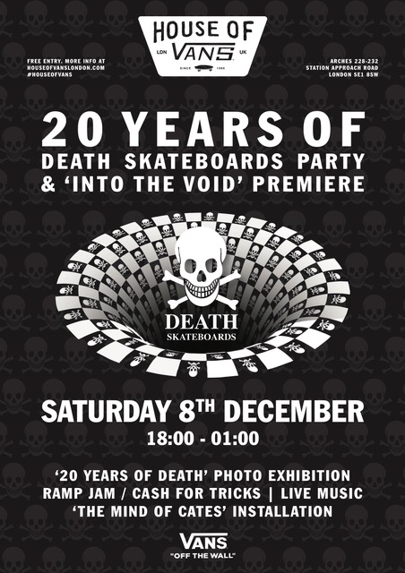 8th December at The House Of Vans